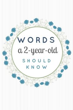 Words a 2-year-old should know (in English) : the piri-piri lexicon