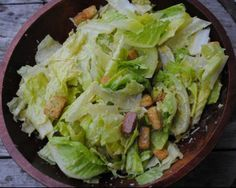 Best Ceasar Salad EVER! (For those of us who prefer no anchovies)