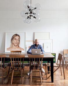 O lar de Jamie Gray no Brooklyn