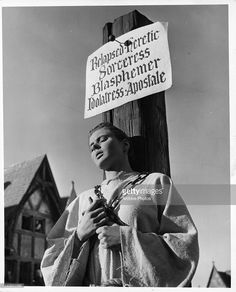 what was written on joan of arc's stake - Google Search