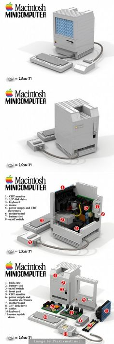 LEGO Apple Macintosh.: