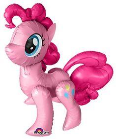 My little Pony- Pinkie Pie -Folienballon Air Walkers unbefüllt