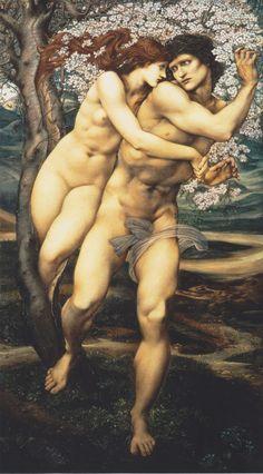 The Tree of Forgiveness - Edward Burne-Jones