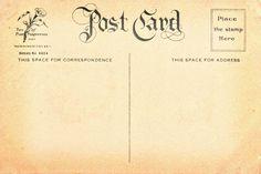 Free Vintage Postcard Back 7 | Flickr - Photo Sharing!