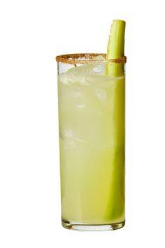 The Skinny Pepino! Hendricks gin, fresh cucumber, fresh lime & jalapeno #manuels