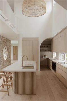 Kitchen Room Design, Home Room Design, Dream Home Design, Modern Kitchen Design, Interior Design Kitchen, Kitchen Decor, Interior Modern, Interior Minimalista, Cuisines Design