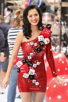 Dice Dress - Katy Perry
