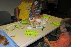 https://flic.kr/p/vR2fSi | RIMOSA - Flight - July 7 2015 | Tweens building kites.  July 7, 2015