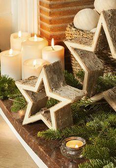 Haz click en la imagen para encontrar tips para llenar de decoración de estrellas de Navidad tu hogar. Este ornamento de Navidad nos ha fascinado. ¡Es muy original! Para más pines como éste visita nuestro board. Espera!  > No te olvides de pinearlo si te gusta! #estrellas #navidad #estrellasnavidad #decoraciondenavidad