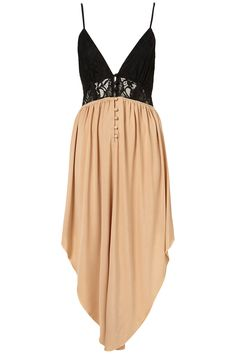 Topshop CONTRAST BUST DRESS BY COCO'S FORTUNE