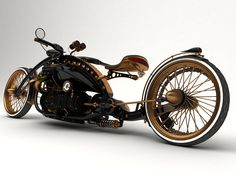 Steampunk chopper prototype Version 1 by Solif