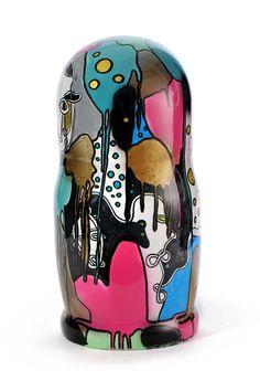 Artiste Joy' Popy Can & Poupées Russes, sculpture - bronze French Artists, Lovers Art, Sculpture Art, Snow Globes, Pop Art, 3d Printing, Bronze, Joy, Ceramics