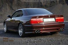 BMW 850 CSi brown