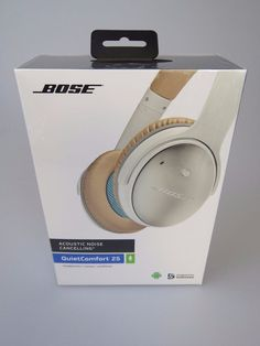 BOSE QuietComfort 25 White QC25 Acoustic Noise Cancelling Over Ears Headphones & 3 Pack Ziploc TableTops Dishware Dinner Plates w/ Lids Snap Seal New ...