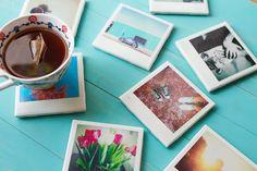 GRANNYGIRLS.COM - Polaroid Coasters
