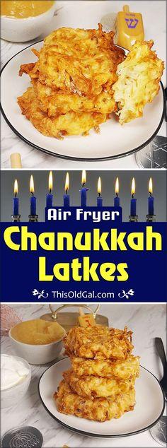 Air Fryer Traditional Air Fryer Chanukkah Latkes Image