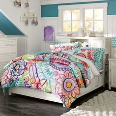 Floral Beachy Room!