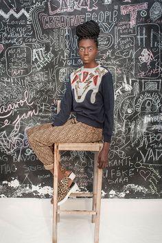 Sempre com um pé no streetwear