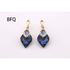 306234d59 Trendy Classic Blue Large Crystal Dangling Earrings For Women Gifts New Hot  Popular Luxury Fashion Zirconia Jewelry 2017-in Underwear from Mother &  Kids on ...