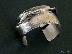 Bracelet Cuff Bangle Sterling Silver Bracelet