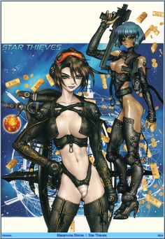 Masamune Shirow Art 196.jpg: