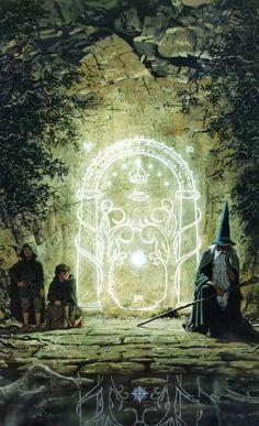Les portes de la Moria