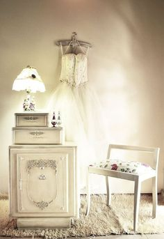 make it white , crafts, home decor, painted furniture, shabby chic