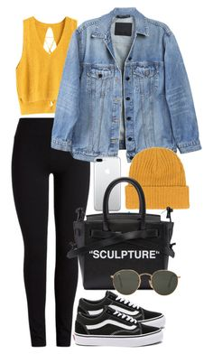 """Untitled #1391"" by bruna-linda-12 ❤ liked on Polyvore featuring Vans, Y/Project, Off-White and Ray-Ban"