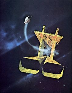 Chris Foss - The Galaxy Primes by myriac, via Flickr | Click through for a larger image