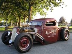 Flat Nasty 38 Ford - Hand Lettered/Pinstriped by Kelly's K… | Flickr