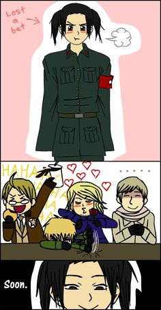 APH: Yao Lost a Bet by thingy-me-jellyfis.deviantart.com on @deviantART