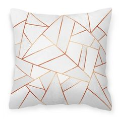 Modern & Stylish White Cushion
