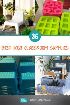 36 of the Best Ikea Classroom Supplies for Your Next Shopping Trip. You're going to want to save this list. These Ikea classroom supplies are teacher tested, kid friendly, and budget approved. Preschool Classroom Setup, Classroom Hacks, Classroom Organisation, Classroom Supplies, New Classroom, Classroom Setting, Teacher Organization, Classroom Design, Classroom Decor