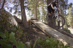 Snow Summit Mountain Resort Mountain Bike Trail in Big Bear Lake, California    SINGLETRACKS.COM