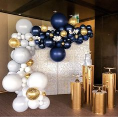 Adult Birthday Party, 40th Birthday Parties, Birthday Balloons, Balloon Columns, Balloon Arch, Balloon Garland, Sweet 16 Decorations, Balloon Decorations, Baby Shower Balloons