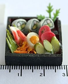 Japanese Sushi in wooden box, 12.5 USD now only 7.9 USD
