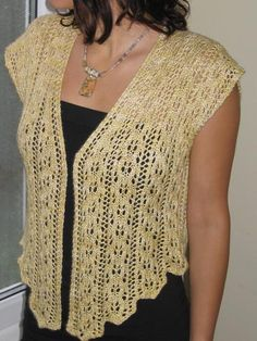 Antique Lace Pullover Knit Pattern