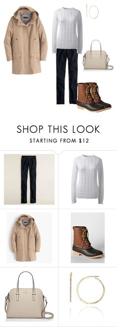 """""""March 21: Sunday: Search Committee Dinner"""" by miigwan ❤ liked on Polyvore featuring J.Crew, Lands' End and Maise"""