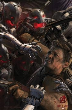 Comic-Con 2014: 'Avengers: Age of Ulton's Connecting Character Posters — Latino-Review.com