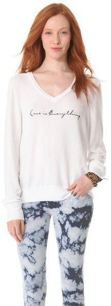 #shopbop.com              #love                     #Wildfox #Everything #Love #Baggy #Beach #Sweatshirt #SHOPBOP                 Wildfox Everything is Love Baggy Beach Sweatshirt | SHOPBOP                                             http://www.seapai.com/product.aspx?PID=603495