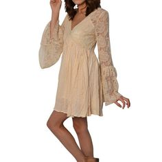 Free People With Love Dress in Tea