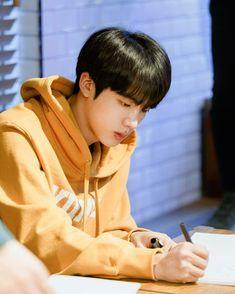 """Jin,"" -the boy lays on another boy's lap as he gazed at the starry … # Fan-Fiction # amreading # books # wattpad Jimin, Bts Jin, Suga Rap, Bts Bangtan Boy, Seokjin, Jung So Min, Taehyung, Billboard Music Awards, Foto Bts"