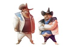 Character Design for 3D Animation Movie by Juan Francisco Cancelleri, via Behance