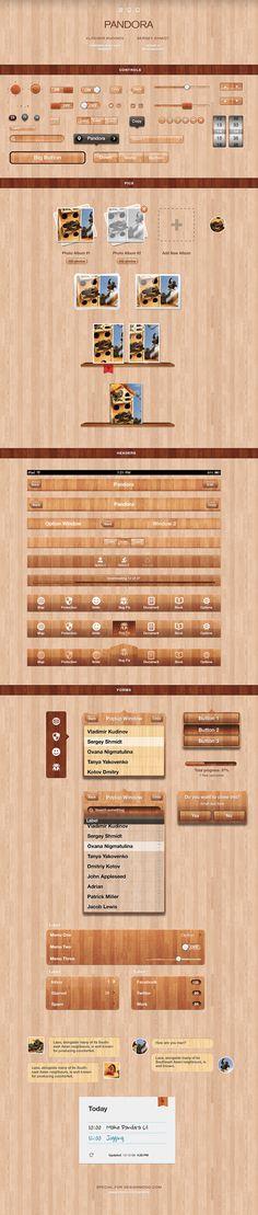Pandora UI for iOS
