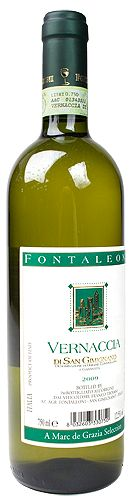 Fontaleoni Vernaccia di San Gimignano $10. Italy-Spring-Refreshing-Crisp-Dry-Mineral