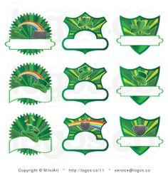 Royalty Free St Patricks Day Vector Logos