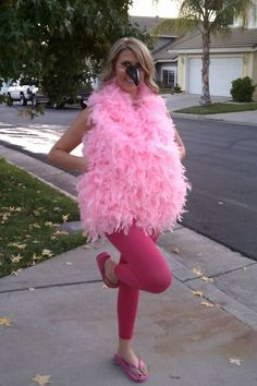 Halloween Costumes Flamingo, this could be fun for trunk or treat. or school costume, etc. any books with Flamingos?Flamingo, this could be fun for trunk or treat. or school costume, etc. any books with Flamingos? Flamingo Halloween Costume, Easy Homemade Halloween Costumes, Hallowen Costume, Theme Halloween, Halloween Costumes For Teens, Halloween 2018, Cool Costumes, Adult Costumes, Halloween Diy