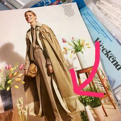 Spotted this during my weekend reading of The Telegraph Luxury supplement. This silk double coat is my idea of a luxury item. Yes it's expensive of course as it's by @celine but it would last a lifetime and still look contemporary. Two for the price of one as it's reversible. The cut is great as both hems of each coat are stitched together creating a subtle amount of volume. It's my birthday in September does anyone want to treat me??  ___________________________________ #dreamcoat…