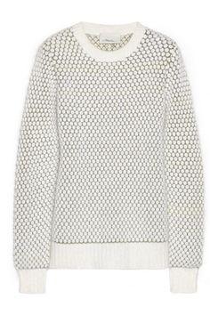 3.1 Phillip Lim Bubble-knit wool-blend sweater