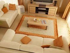 How to Arrange the Furniture in the Livingroom? Some interesting ideas